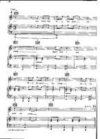 Goodnight saigon piano sheet music