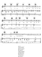 complainte de la butte piano sheet music free